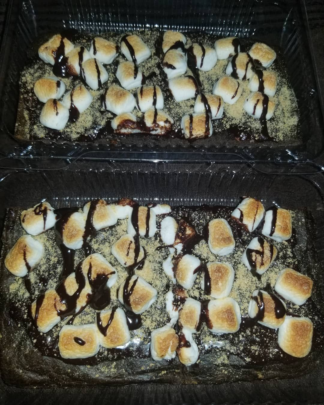 S'mores brownies!!! S'mores brownies!!! S'mores brownies!!!