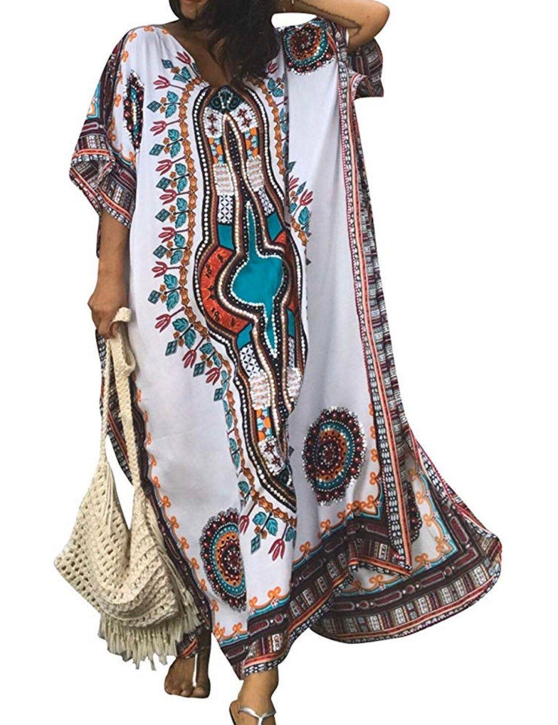 White And Brown Caftan For Women Women Caftan Kaftan For Girl Long Cardigan Women Clothing Ladies Cl Kaftan Maxi Dress Maxi Dress Summer Beach Beach Maxi Dress [ 1461 x 1125 Pixel ]
