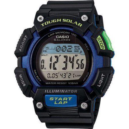 Casio Tough Solar Sport Watch - Walmart.com. Relógio CasioRelogio Masculino  ... 799fe0f249