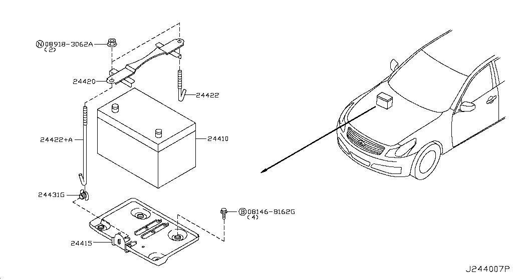 usa parts img db hadley horn dlya infinity infiniti elektricheskii signal product