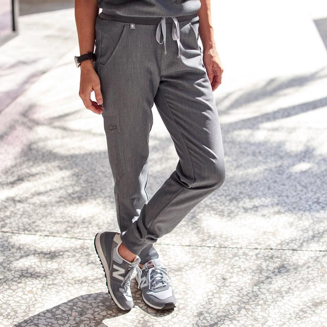 94143382f34 NEW PRODUCT ALERT! Jog much? The Zamora 2.0 jogger scrub pant is finally  here