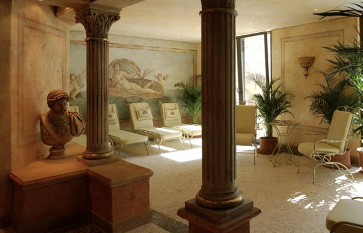 Wellness und Saunalandschaft Hotel Collosseo Europapark Hotel Resort