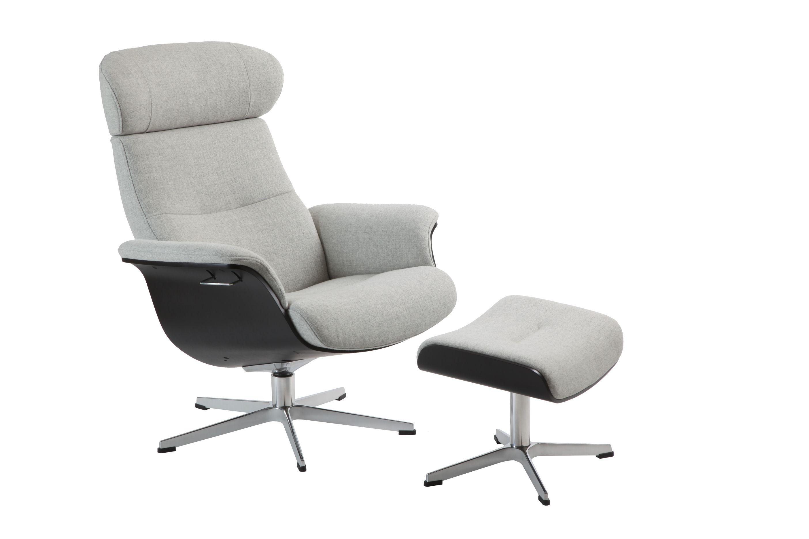 Conform Timeout Relaxsessel X Fuß Aluminium In Stoff Sitzschale