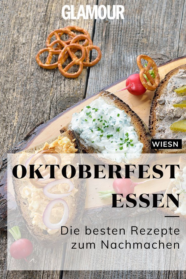 Oktoberfest Nachtisch
