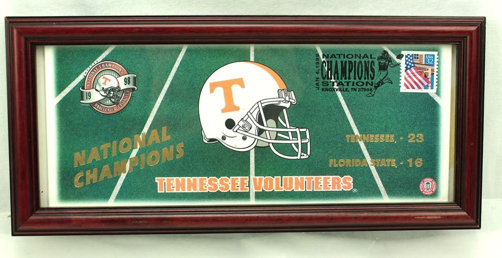 Weboys10 Tennessee Vols Vs Florida State 1999 National Champions Football Event Cover