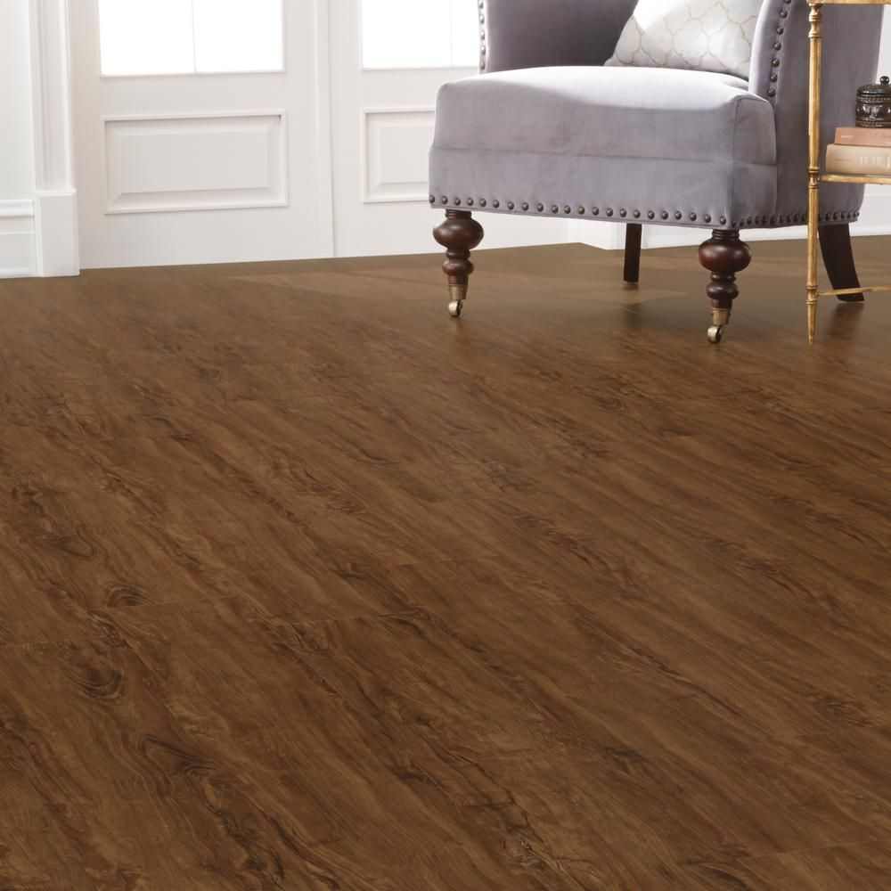 Delicieux Home Decorators Collection 7.5 In. X 47.6 In. Cider Oak Luxury Vinyl Plank  Flooring