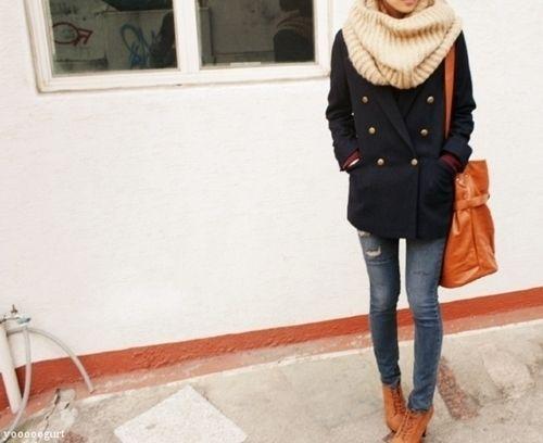 cute!! | Get dressed | Winter-straßenstile, Kleider und ...