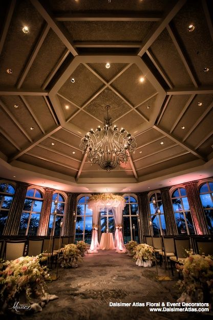 Charming Palm Beach Gardens Wedding | Dalsimer Atlas Floral And Event Decorators Design