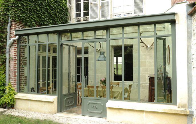 r sultat de recherche d 39 images pour veranda acier veranda pinterest v randas fer forg. Black Bedroom Furniture Sets. Home Design Ideas