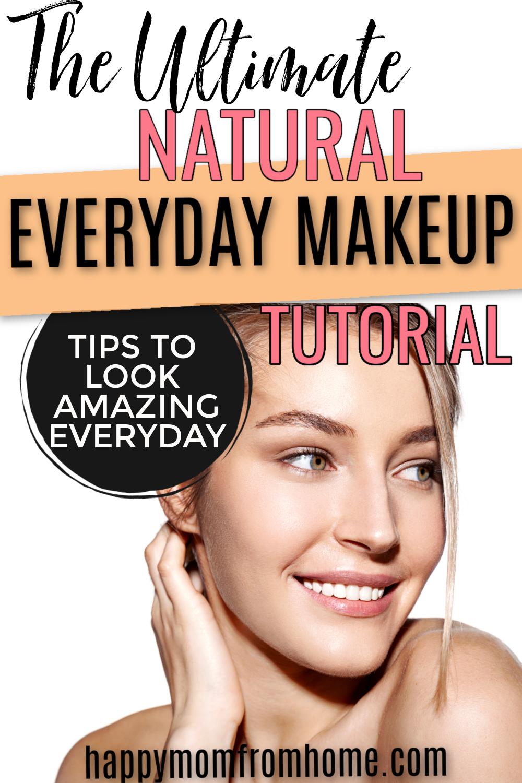 Everyday Makeup Look for Beginners in 2020 Everyday