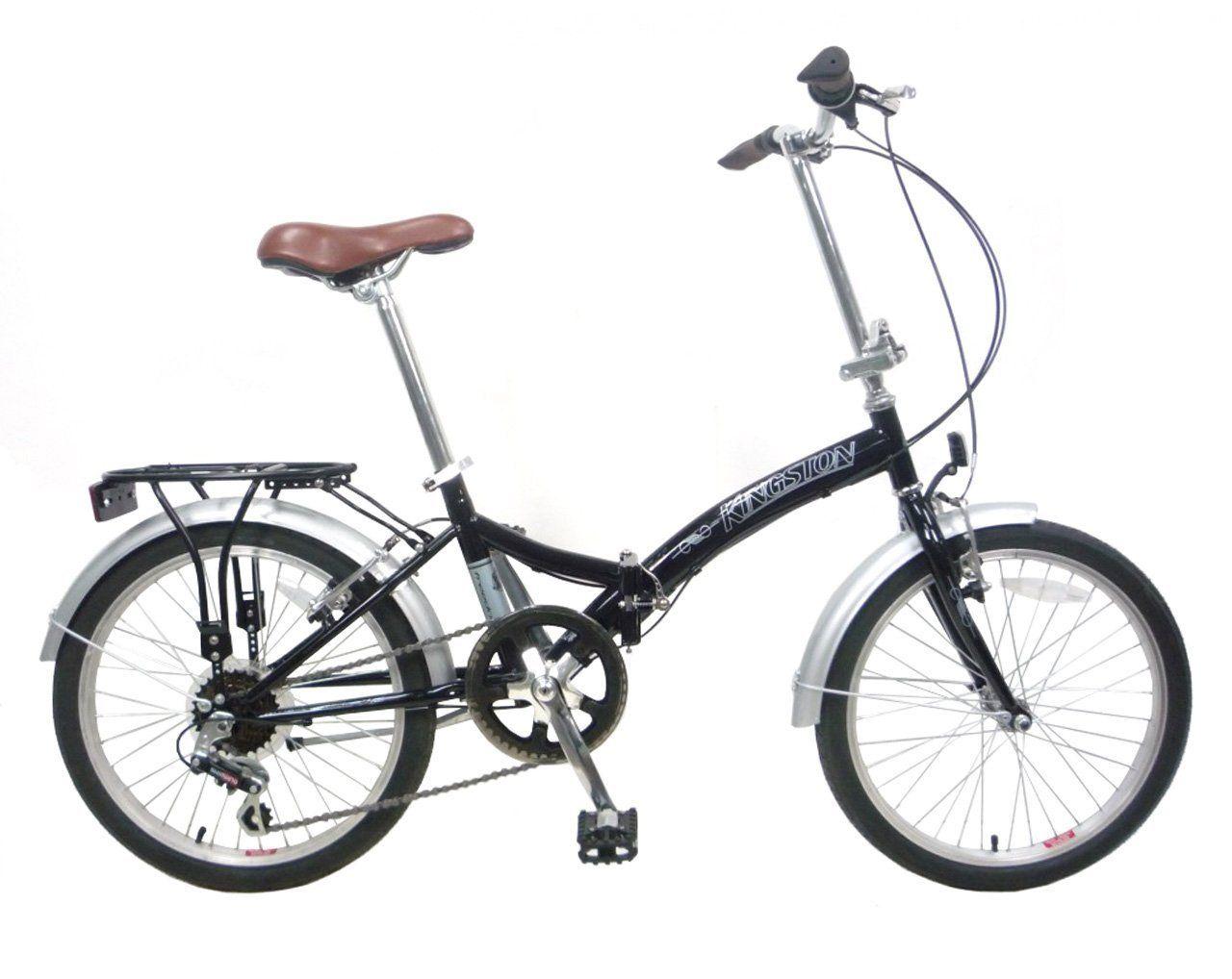 Kingston Freedom Folding Bike Black Amazon.co.uk