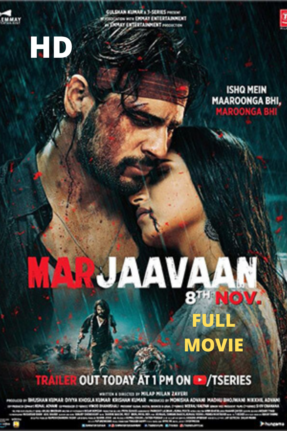 Marjaavaan full movie in Hindi online watch free HD movie