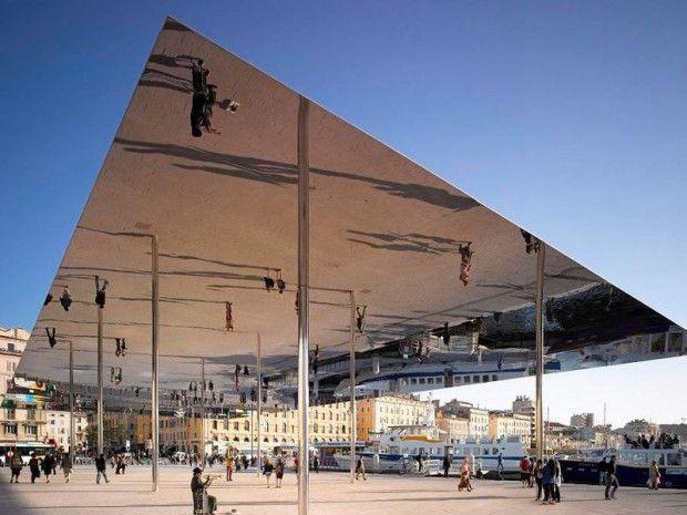 L Architecture Acier Recompensee Vieux Port Architecture Architecture Du Paysage