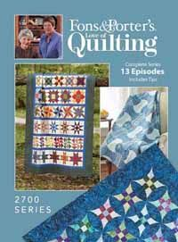 Love of Quilting TV Show- 2700 Series from ShopFonsandPorter.com ... : tv quilting shows - Adamdwight.com