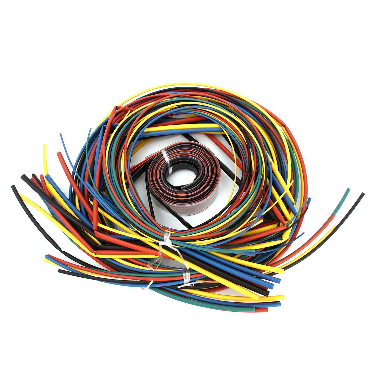 55m Heat Shrinkable Cable Assorted Tubing Wrap Electrical Connection ...