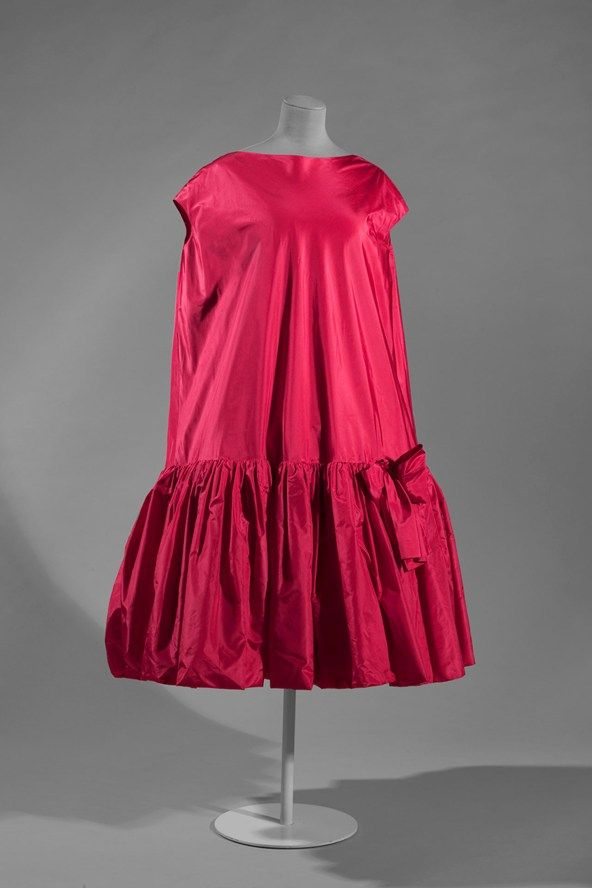 1958 Balenciaga Baby Doll Cocktail Dress Vogue Balenciaga
