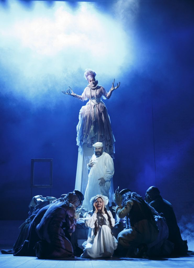 'FIDDLER ON THE ROOF' (from top) Jessica Vosk, Danny