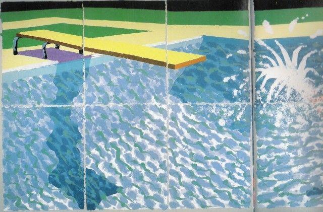 Bildergebnis für david hockney + piscine