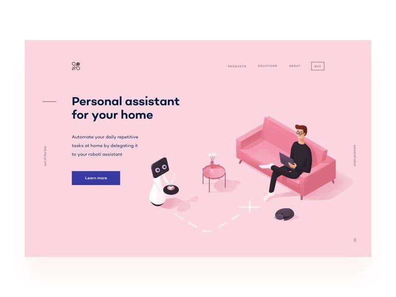 Новости   Personal assistant, Web layout design, Website trends