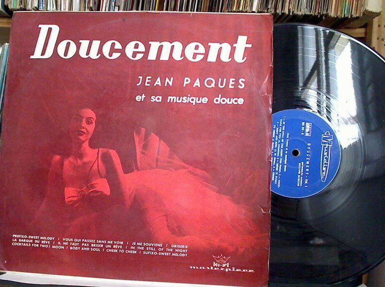 Lp Vinil - Jean Paques - Et Sa Musique Douce - Doucement - http://www.infinityclassic.com.br/produtos/lp-musica-instrumental/lp-vinil-jean-paques-et-sa-musique-douce-doucement/