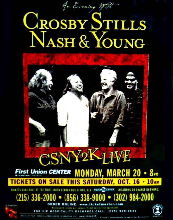 Crosby Stills Nash & Young - Philadelphia 2000