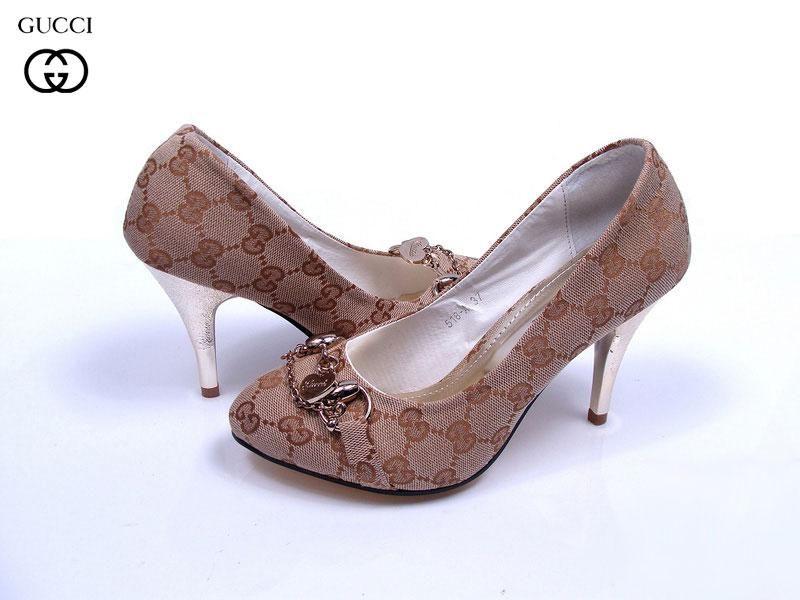 Zapatos Gucci Mujer AV44 Zapatos De Tacon Gucci Mujer Cuero y Nuevo ... a6d62b574d4