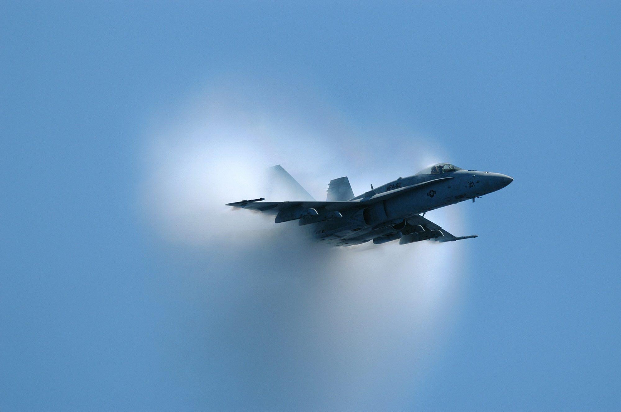 Avion Barrera Sonido Velocidad Explosion Fondos De Pantalla