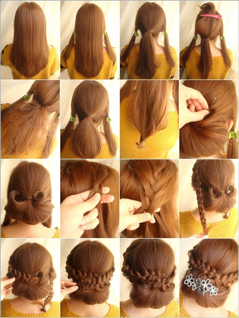 This Chignon With Braid Hairstyle Is Perfect For A Dinner Party Braided Hairstyles Hairstyle Beautiful Braided Hair