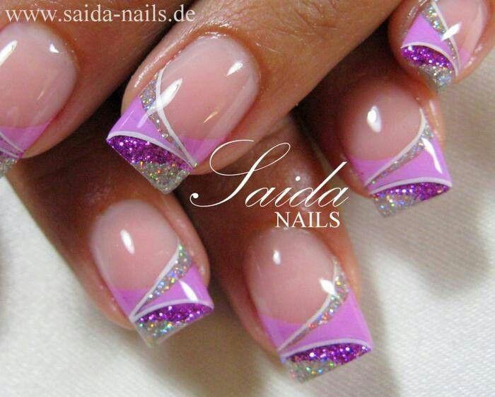 Photo of Purple n silver