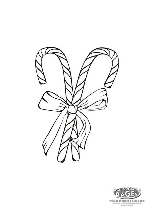Candy Canes - Christmas Coloring Pages | Christmas coloring pages ...