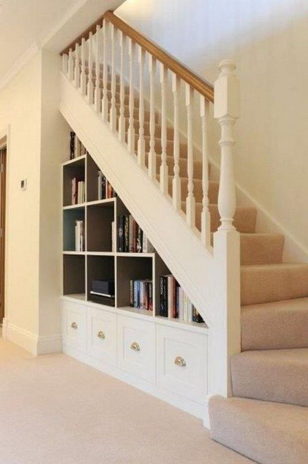 20+ Brilliant Storage Ideas For Under Stairs That Will