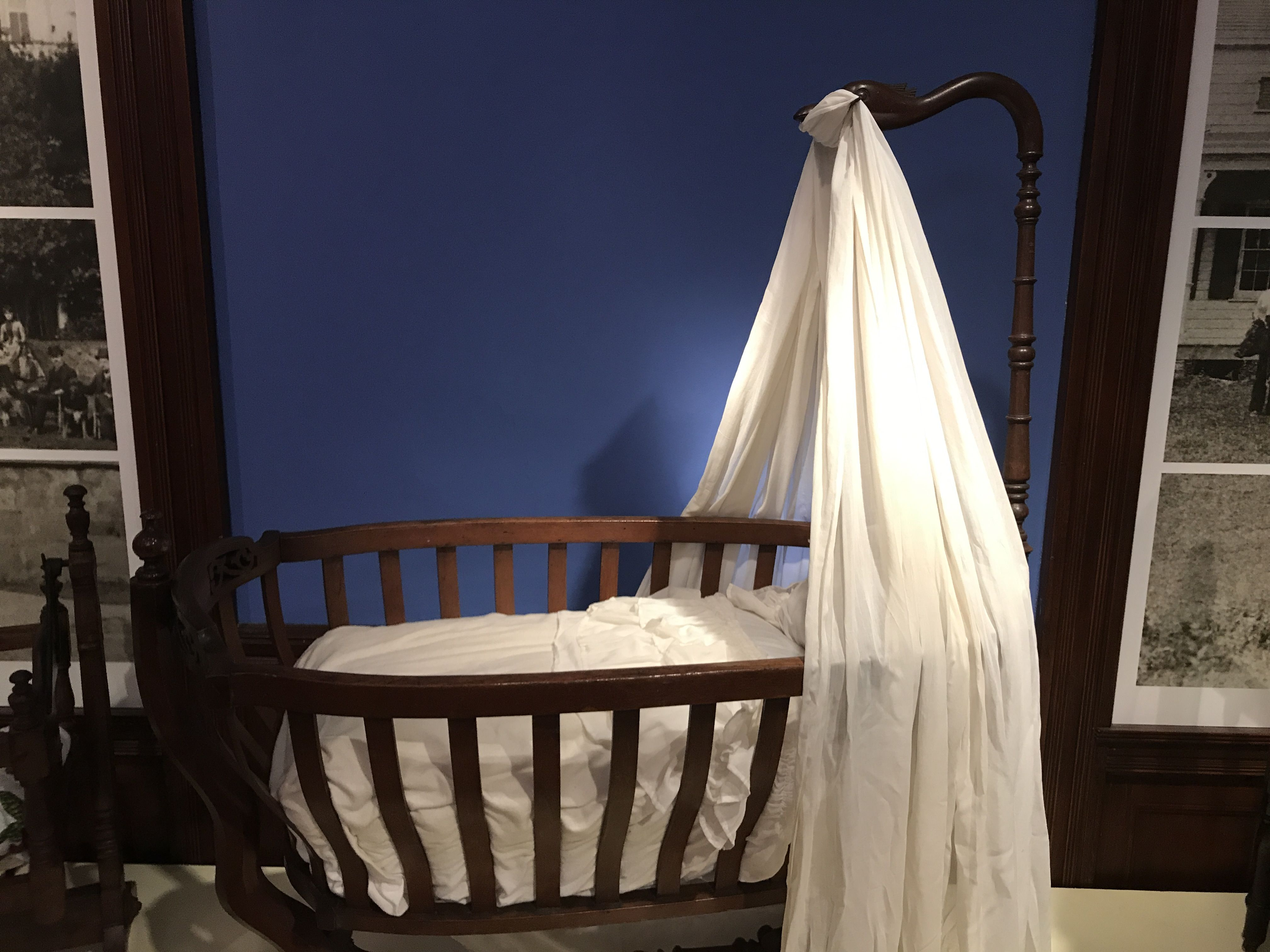 Collection Of Staten Island Historical Society 1820 1850 Hanging Cradle This European Styled Resembled Furniture Victorian Era And Such A