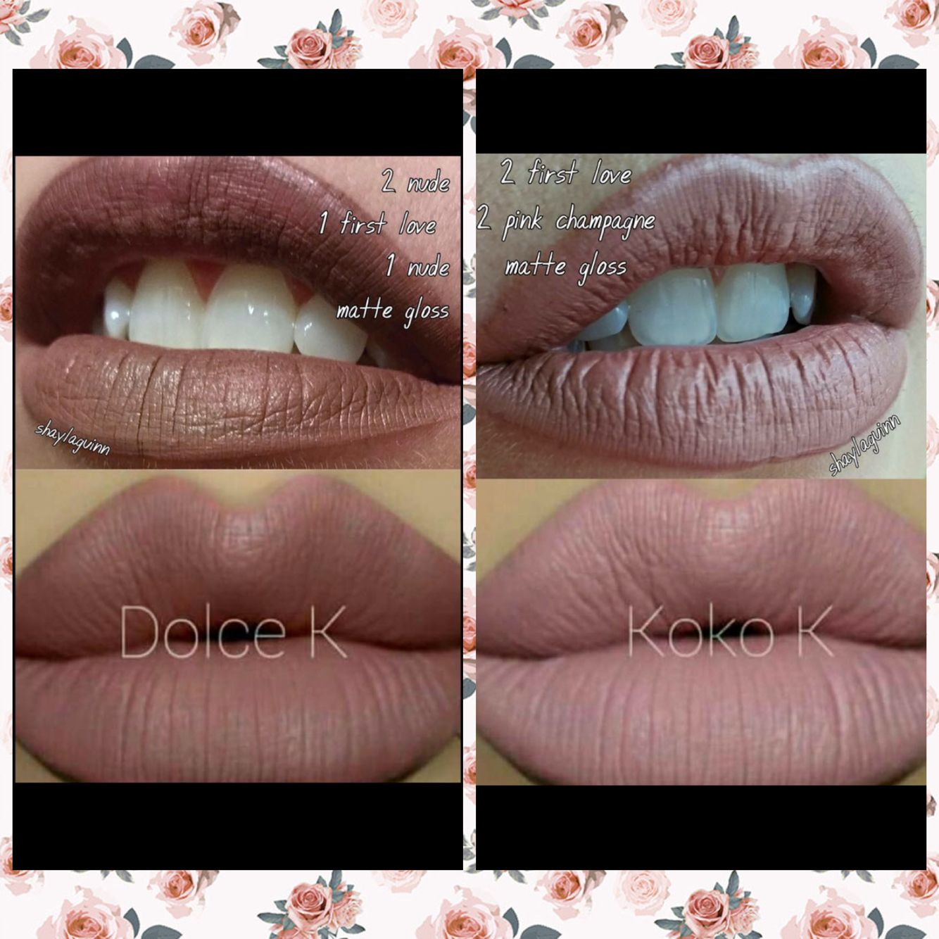LipSense V. Kylie lip kit! LipSense lasts 18 hours, is waterproof, smudge proof and kiss proof!!! Totally amazing!!! ❤️