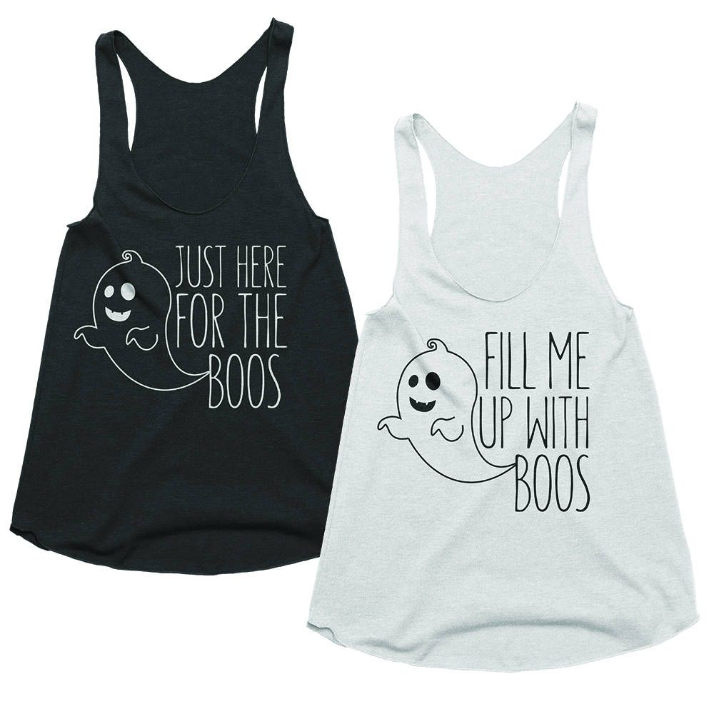 Halloween Bachelorette Shirts - Just Here for the Boos ...