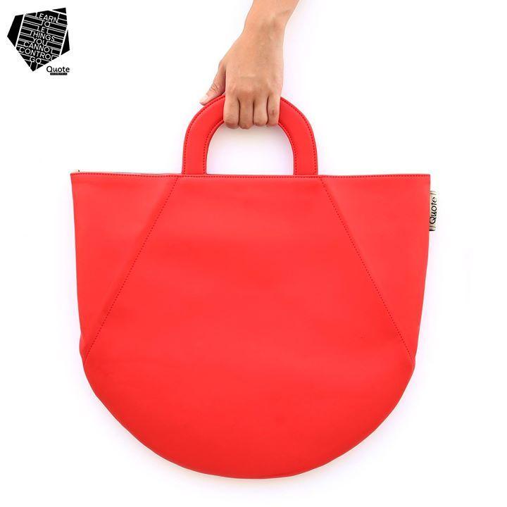 Geometric Tote ( 幾何学デザインのバッグ )
