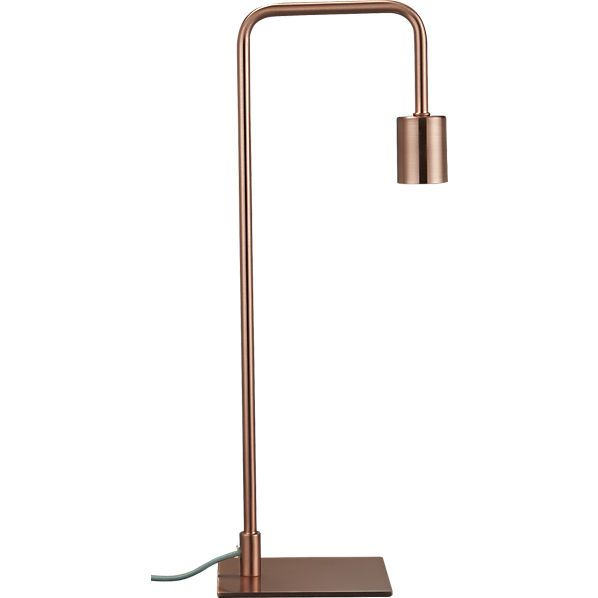 23 ways to decorate with copper copper tablecopper lampsnight - Nightstand Lamp