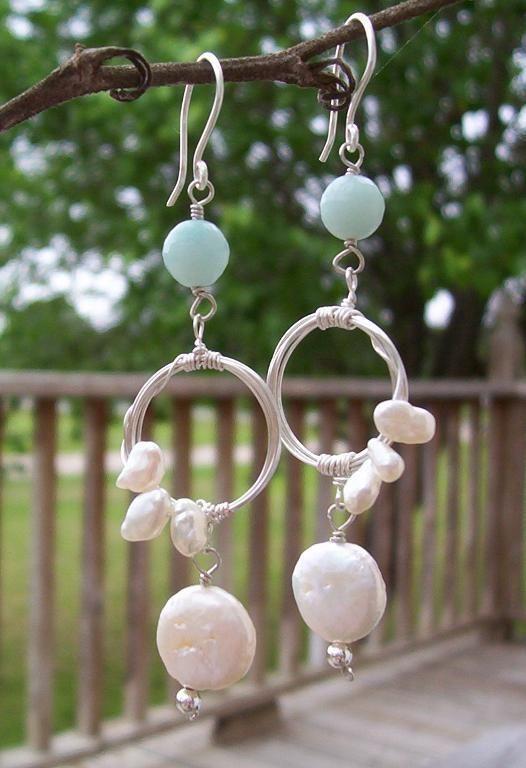 Once in a Blue Moon Earrings