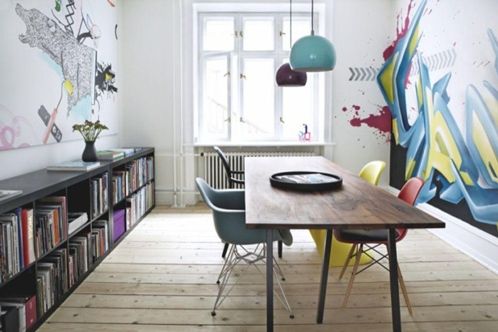 30 Wand Streichen Ideen, Die Jedes Design Dilemma Lösen Können #esszimmer  #zenideen #
