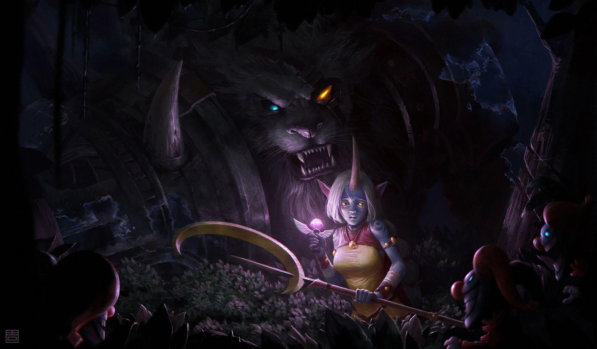 Soraka Rengar League Of Legends League Of Legends