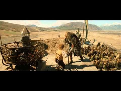 Lotr The Return Of The King Extended Edition Theoden S Decision Lotr Scenes Legolas
