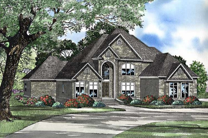 Traditional Style House Plan 4 Beds 3 Baths 4360 Sq Ft Plan 17 3222
