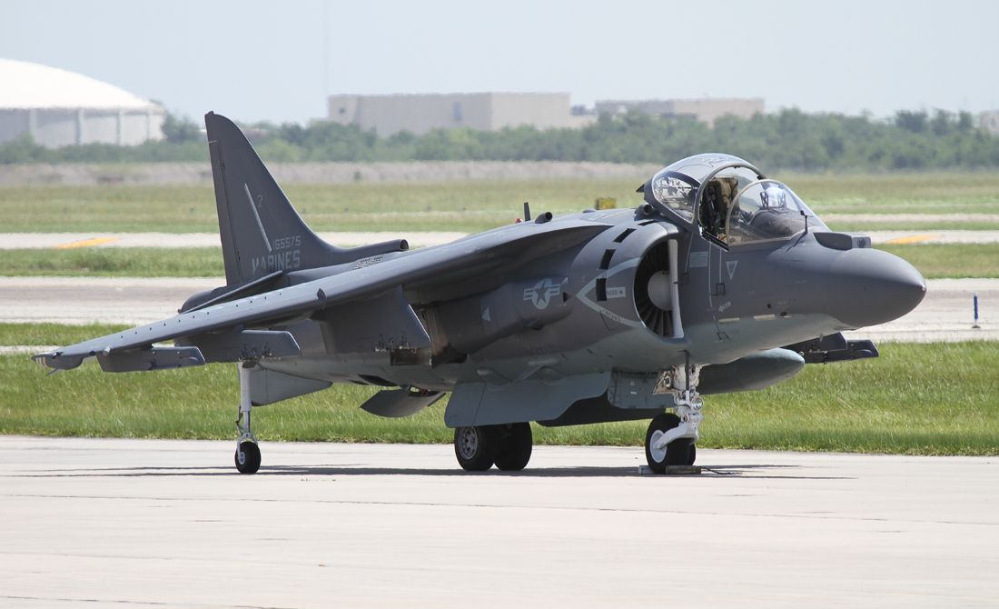 VMAT-203 (Harrier training unit at Cherry Point) visiting Ellington Field