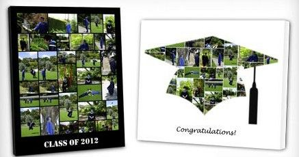 Best Deal For Graduates-The College Photo Canvas @ Groupon   US Top Deals All American Top Deals US Daily Deals