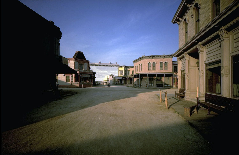 Virginia City Bonanza Paramount Studios Backlot Behind