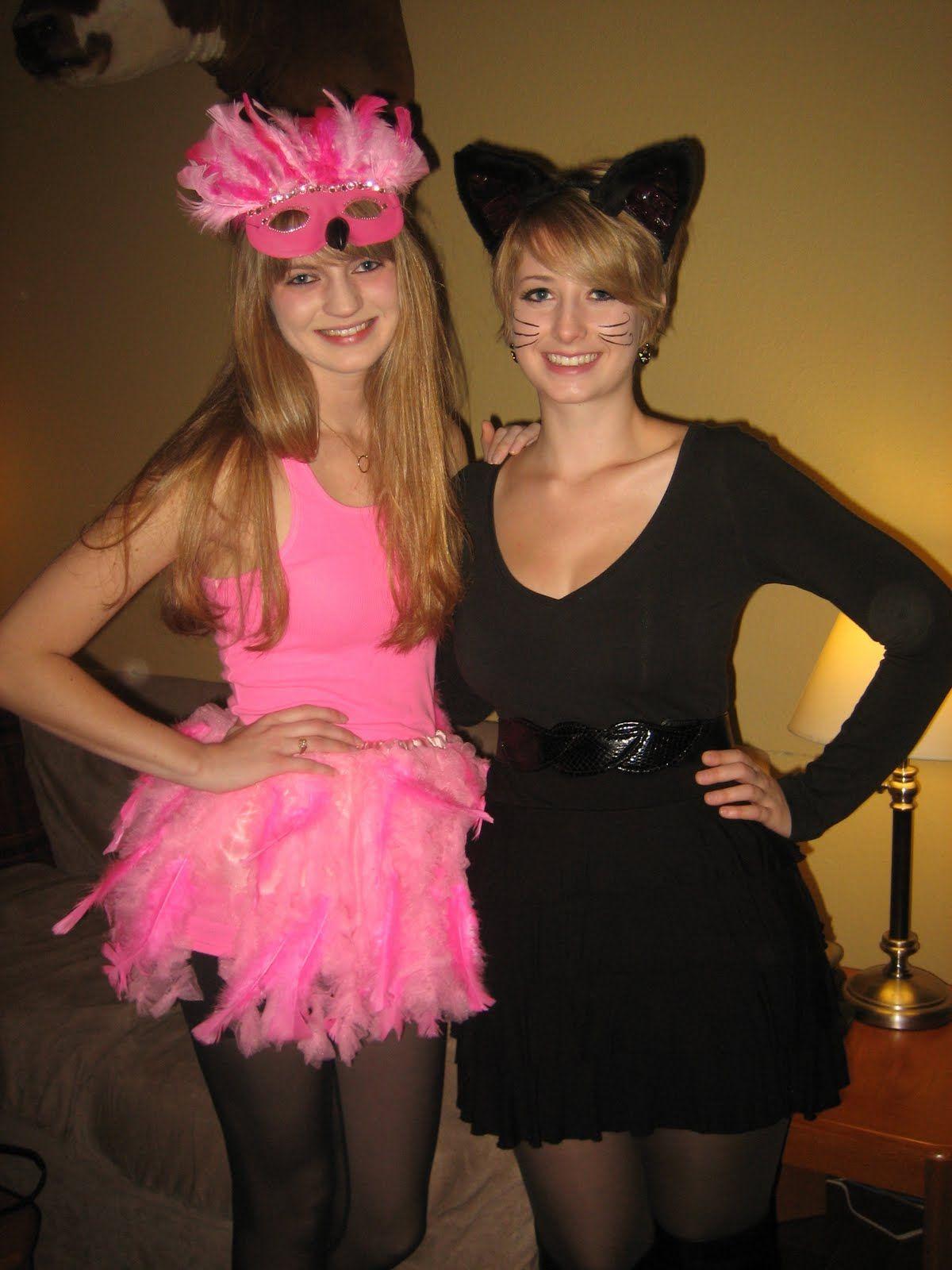 Pink Tutu Halloween Costume Ideas | Pink Flamingo Black Cat Costume Ideas Costumes Pinterest