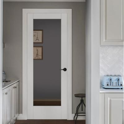 Jeld Wen 36 In X 96 In Moda Primed Pmc1011 Solid Core Wood