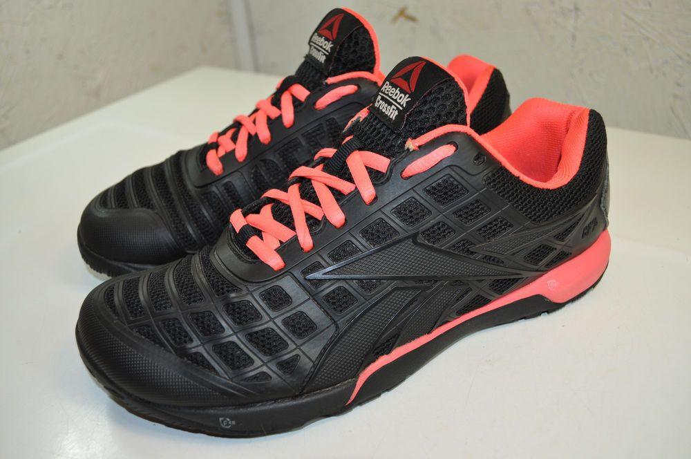 Reebok Crossfit Nano 3 0 Trainers V59942 Black Punch Pink 39 Women 8 5 M Fashion Clothing Shoes Accesso Reebok Crossfit Nano Red Sole Shoes Reebok Crossfit