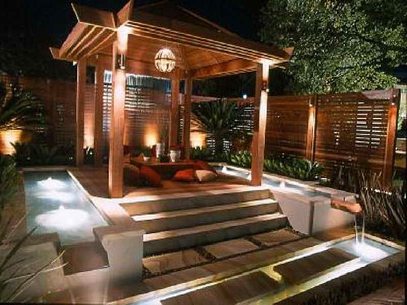Outdoor Gazebo Lighting Ideas Outdoor Pergola Hot Tub Outdoor