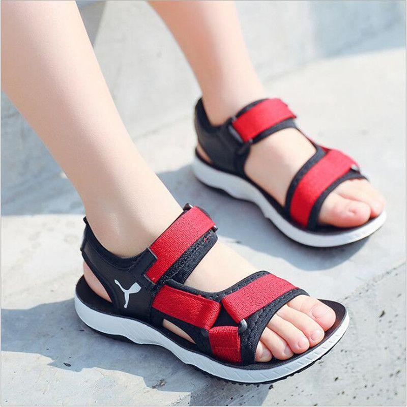 acheter Garçon de Sandales 2018 Nouveaux Enfants Plage Chaussures ...