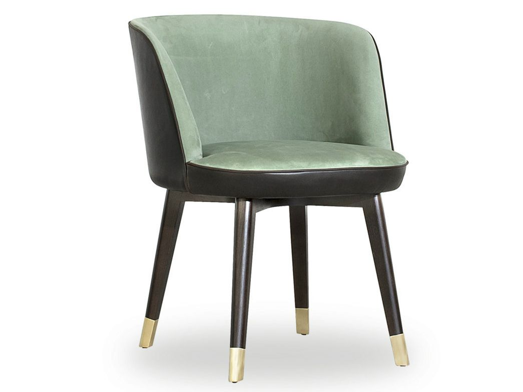Poltroncina in pelle collezione colette by baxter design for Baxter mobili